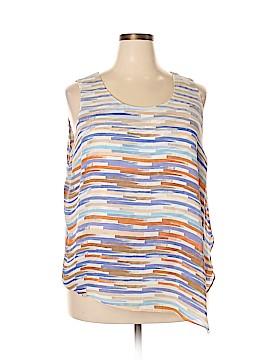 Nic + Zoe Sleeveless Blouse Size 2X (Plus)