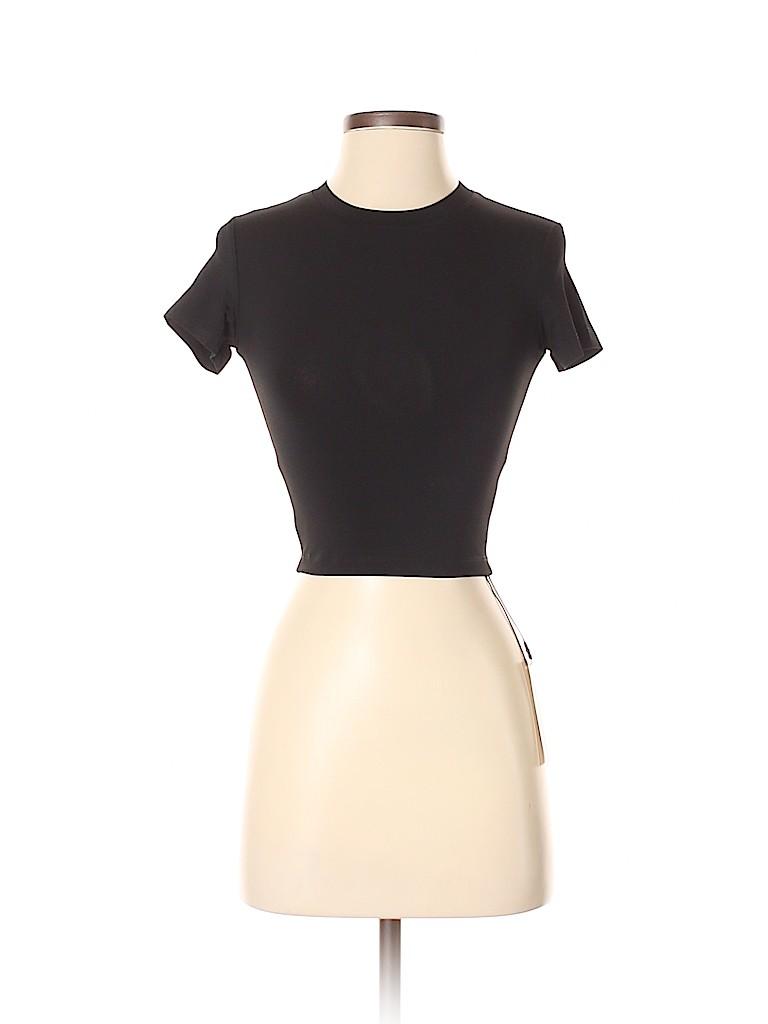 Genuine People Women Short Sleeve Top Size XXS