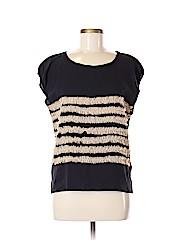 Mcginn Short Sleeve Silk Top
