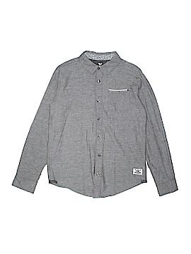 Shaun White Long Sleeve Button-Down Shirt Size 12