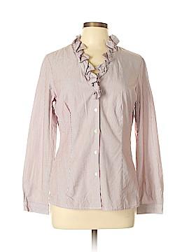 Talbots Long Sleeve Button-Down Shirt Size M