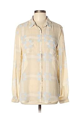 Harve Benard Long Sleeve Blouse Size XL