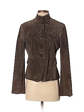 AK Anne Klein Leather Jacket Size S