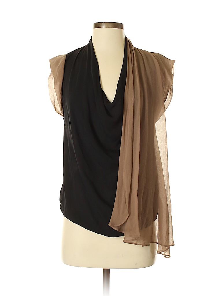 Haute Hippie Women Sleeveless Silk Top Size XS
