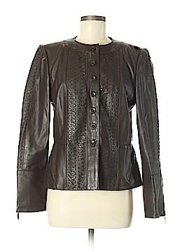 Ellen Tracy Leather Jacket Size 8