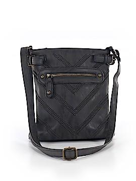 Black Rivet Crossbody Bag One Size