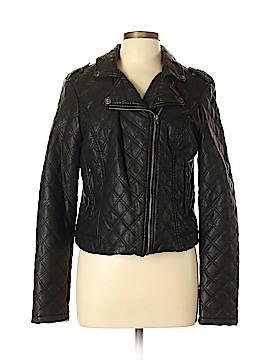 Aeropostale Faux Leather Jacket Size XL