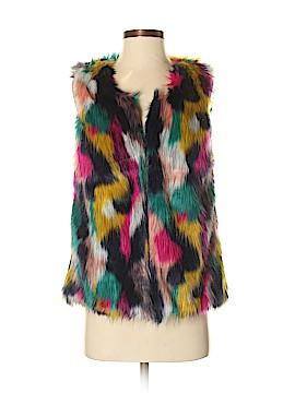 Charlotte Russe Faux Fur Vest Size XS