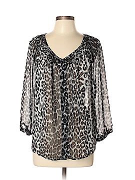 Rafaella 3/4 Sleeve Blouse Size L