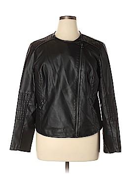 Apt. 9 Faux Leather Jacket Size XL
