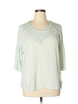 LC Lauren Conrad 3/4 Sleeve Top Size XL
