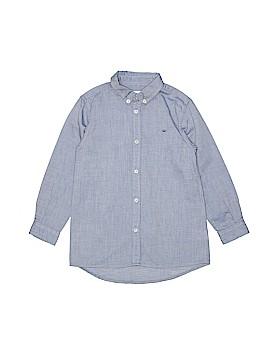 Marie Chantal Long Sleeve Button-Down Shirt Size 6