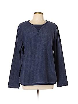 Denim + Company Sweatshirt Size XL