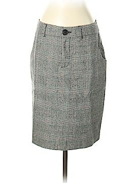 Pink Tartan Wool Skirt Size 4