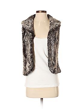 Chelsea & Violet Faux Fur Vest Size XS
