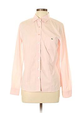 Lacoste Long Sleeve Button-Down Shirt Size 44 (EU)