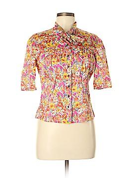 Robert Graham Short Sleeve Button-Down Shirt Size 8