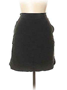 Madewell Silk Skirt Size XL