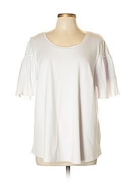 ELOQUII Short Sleeve Top Size 16 (Plus)