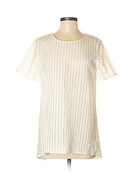 J. Crew Short Sleeve Blouse Size 6 (Tall)