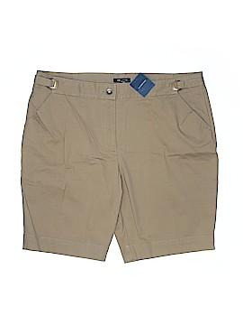 Lands' End Khaki Shorts Size 18 (Plus)