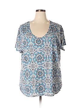 Ann Taylor LOFT Short Sleeve T-Shirt Size 24 - 26 Plus (Plus)