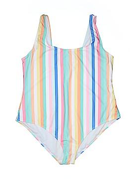 Boohoo Boutique One Piece Swimsuit Size 18 (Plus)