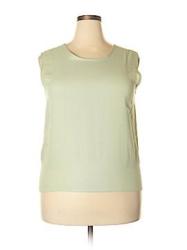 LOGO Sleeveless Blouse Size XL