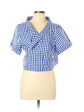 ELOQUII Short Sleeve Button-Down Shirt Size 22 (Plus)