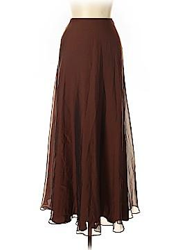 Carmen Marc Valvo Silk Skirt Size 6