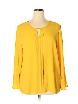Chaus Long Sleeve Blouse Size XL