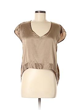 MYNE Short Sleeve Silk Top Size 6