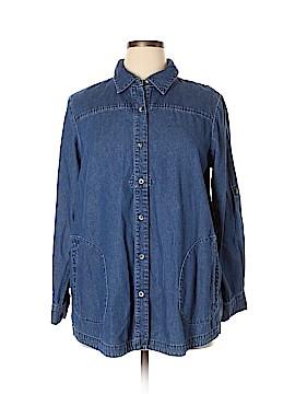 Joan Rivers Denim Jacket Size L