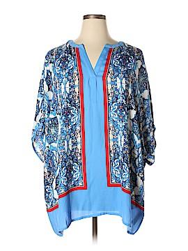 Rafaella 3/4 Sleeve Blouse Size 2X (Plus)