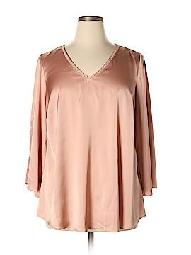 Rose & Olive Long Sleeve Blouse Size 1X (Plus)