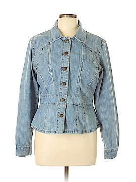 Bill Blass Jeans Denim Jacket Size L