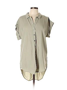 Thread & Supply Short Sleeve Button-Down Shirt Size L