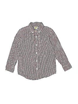 Crazy 8 Long Sleeve Button-Down Shirt Size 5 - 6