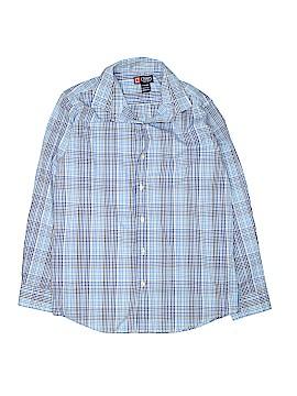 Chaps Long Sleeve Button-Down Shirt Size 14 - 16