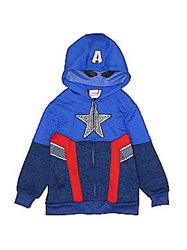 Marvel Zip Up Hoodie Size 5