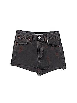 Moto Denim Shorts Size 2