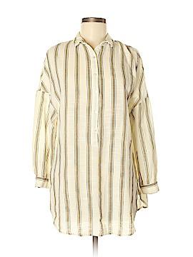 Trafaluc by Zara Long Sleeve Button-Down Shirt Size M