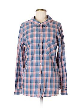 William Rast Long Sleeve Button-Down Shirt Size M