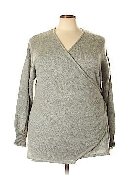 ELOQUII Pullover Sweater Size 24 (Plus)