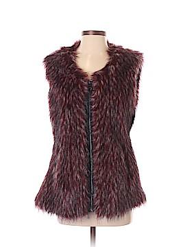 Via Spiga Faux Fur Vest Size XS