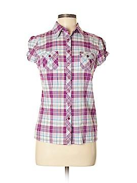 SO Short Sleeve Button-Down Shirt Size M