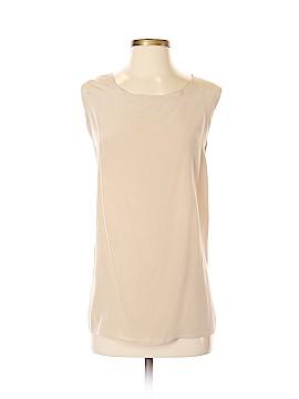August Silk Sleeveless Silk Top Size XS