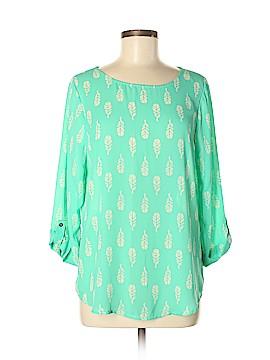 Pixley 3/4 Sleeve Blouse Size M