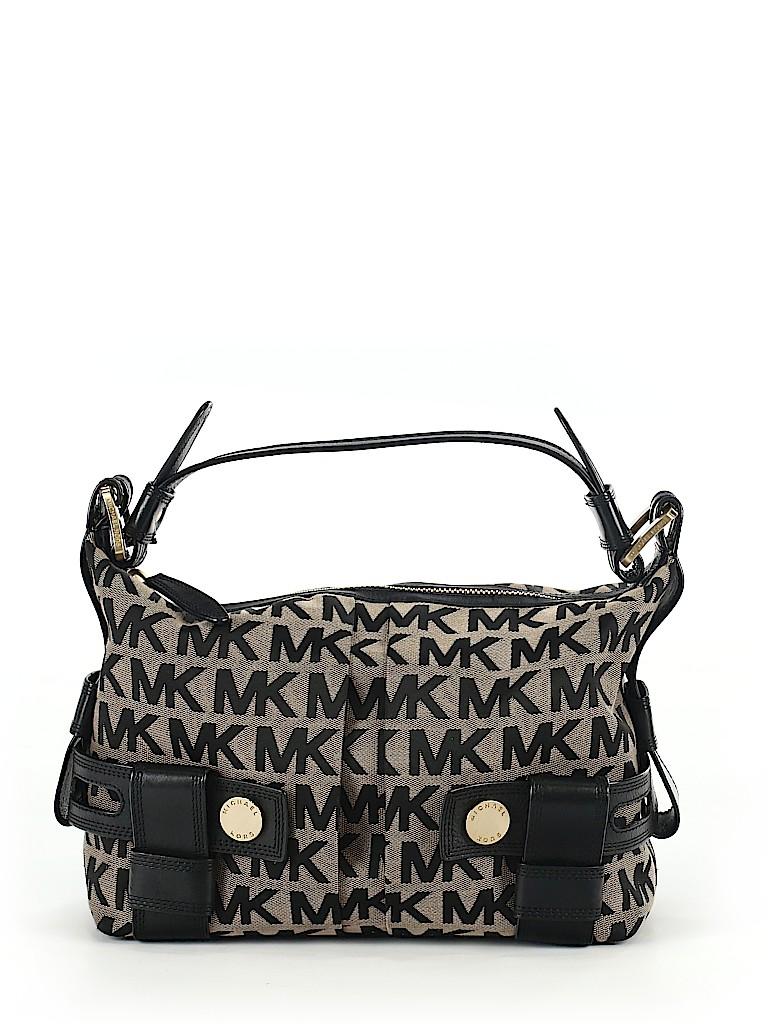 df3ab90ab111 MICHAEL Michael Kors Print Black Shoulder Bag One Size - 75% off ...