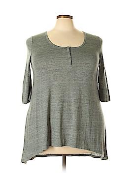 ABound Short Sleeve Henley Size XL